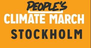 Climate march, Stockholm, 21 september, Vasaparken, kl 15