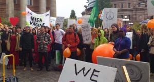 Klimatmarsch 21 sept även i Sverige