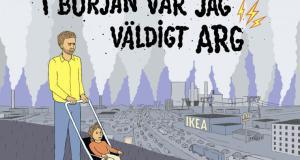 Klimataktions Samuel Jarrik som seriefigur.