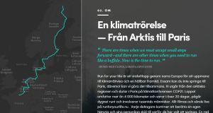 Run for your life – Stafettlopp för klimatet till Paris!