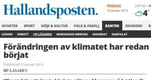 Halmstad: Klimataktions kritiska debattartikel om kommunal planering