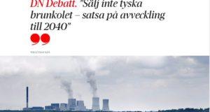Svante Axelsson: Satsa på en Linje 2 i Vattenfallfrågan!