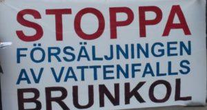 Folkopinionen säger nej till Vattenfalls försäljning