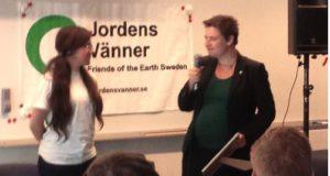 Miljöpartiets partistyrelse vann Svenska Greenwashpriset 2016