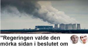 Klimataktion om Vattenfalls försäljning i SVT Opinion