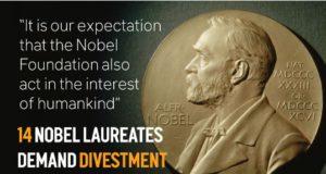 Nobelpristagare till Nobelstiftelsen: Avveckla investeringar i fossila tillgångar.