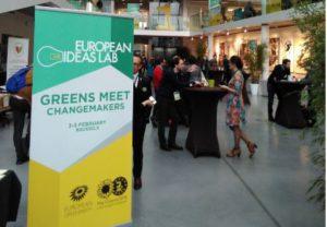 Greens meet Jonas Bryssel