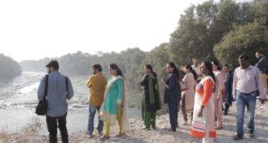 Nina Naim i Mumbai – lärarworkshop i mangroven