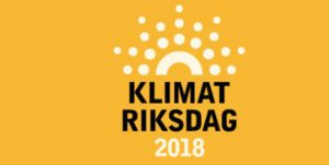 Klimatriksdag logga